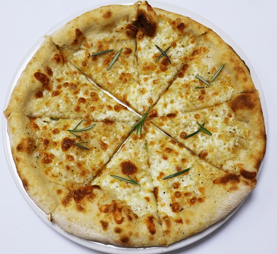 Pizza Garlic Bread with Cheese